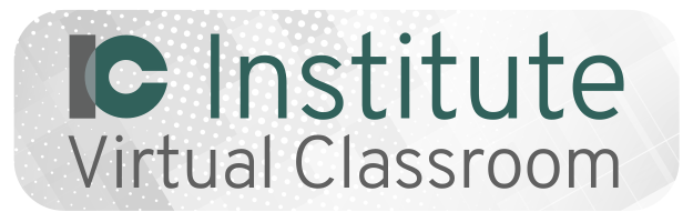 IC Institute virtual classroom
